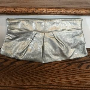 Handbags - Silver clutch purse